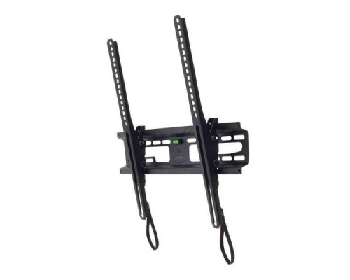 "Кронштейн Kromax FLAT-4 new черный для TV 26""-55"", настенный наклонный, max VESA 400x400, от стены 42мм, наклон +3-10°, нагрузка до 55 кг"