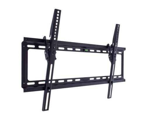 "Кронштейн Kromax IDEAL-2 черный для TV 32""-90"", настенный наклонный, max VESA 600x400, от стены 23мм, наклон 0-10°, нагрузка до 55 кг"