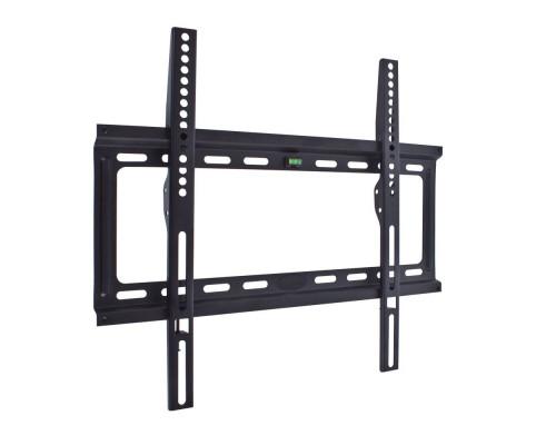 """Кронштейн Kromax IDEAL-3 черный для TV 22""""-65"""", настенный фиксированный, max VESA 400x400, от стены 23 мм, нагрузка до 50 кг"""