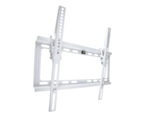 "Кронштейн Kromax IDEAL-4 белый для TV 22""-65"", настенный наклонный, max VESA 400x400, от стены 23мм, наклон 0-10°, нагрузка до 50 кг"