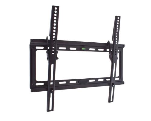 "Кронштейн Kromax IDEAL-4 черный для TV 22""-65"", настенный наклонный, max VESA 400x400, от стены 23мм, наклон 0-10°, нагрузка до 50 кг"