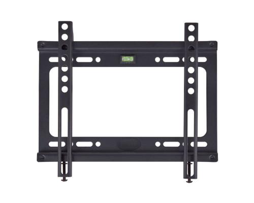 """Кронштейн Kromax IDEAL-5 черный для TV 15""""-47"""", настенный фиксированный, max VESA 200x200, от стены 20 мм, нагрузка до 35 кг"""