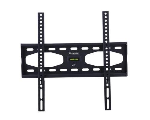 """Кронштейн Kromax STAR-33 черный для TV 22""""-65"""", настенный фиксированный, max VESA 400x400, от стены 33мм, нагрузка до 40 кг"""