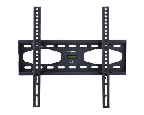 "Кронштейн Kromax STAR-44 черный для TV 26""-55"", настенный наклонный, max VESA 400x400, от стены 75мм, наклон ?12°, нагрузка до 40 кг"