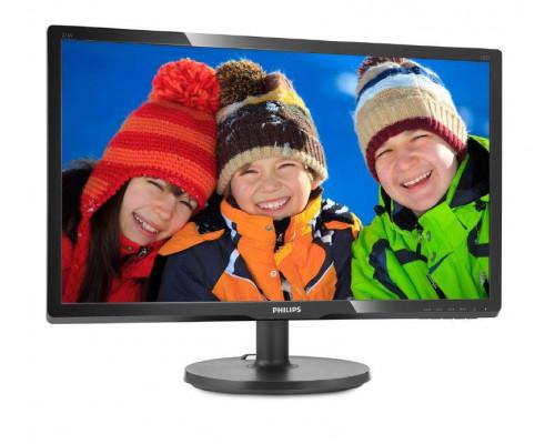 """МОНИТОР 20.7"""" PHILIPS 216V6LSB2/62(10) Black (LED, LCD, 1920x1080, 5 ms, 90°/65°, 200 cd/m, 10M:1)"""