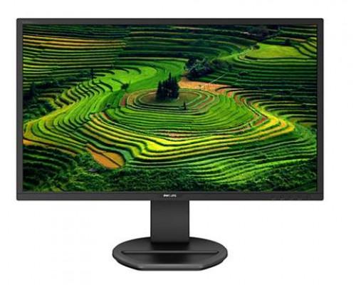 """МОНИТОР 21.5"""" PHILIPS 221B8LHEB/00 Black с поворотом экрана (LED, 1920x1080, 1 ms, 170°/160°, 250 cd/m, 20M:1, +HDMI 1.4, +MM)"""