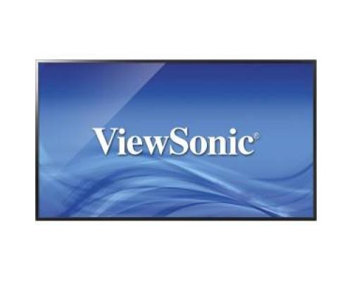 "Профессиональная панель 43"" ViewSonic CDE4302 Black (LED, 1920x1080, 6.5 ms, 178°/178°, 350 cd/m, 3000:1, VGA, 2xHDMI, USB, RS232, SPIDF, 2x10W speaker)"