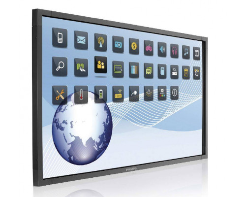 "Профессиональная панель 55"" PHILIPS BDL5556ET/00 Black (Multi-Touch, LED, 1920x1080, 12 mc, 178°/178°, 450 cd/m, 1300:1, DisplayPort, HDMI, DVI, USB)"
