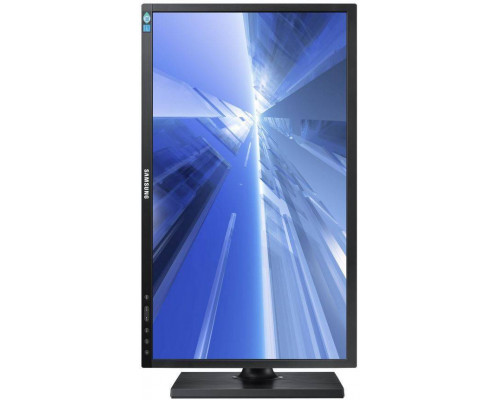 """МОНИТОР 21.5"""" Samsung S22E650D Black (PLS, LED, Wide, 1920x1080, 4ms, 178°/178°, 250 cd/m, 100,000,000:1, +DVI, +DP,+USB, +Pivot)"""