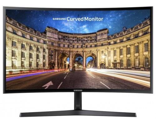 """МОНИТОР 23.5"""" Samsung C24F396FHI Black (VA, LCD, LED, curved, 1920x1080, 4 ms, 178°/178°, 250 cd/m, 3000:1, +HDMI)"""