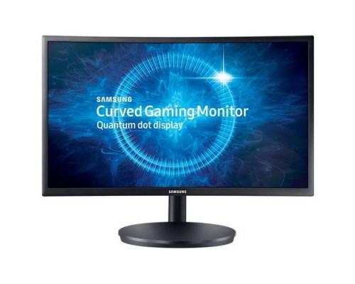 "МОНИТОР 23.5"" Samsung C24FG70FQI Black (VA, LCD, LED, curved, 1920x1080, 1 ms, 178°/178°, 350 cd/m, 3000:1, +2xHDMI, +DP, + HAS, +FreeSync 144 Ghz)"
