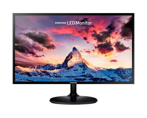 """МОНИТОР 23.5"""" Samsung S24F350FHI Glossy-Black (PLS, LCD, LED, Wide, 1920x1080, 4 ms (GtG), 178°/178°, 250 cd/m, 1000:1, +HDMI)"""