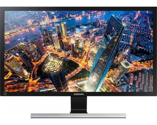 """МОНИТОР 23.5"""" Samsung U24E590D Black (PLS, LCD, LED, 3840x2160, 1 ms, 178°/178°, 300 cd/m, 1000:1, +HDMIx2, +DP)"""