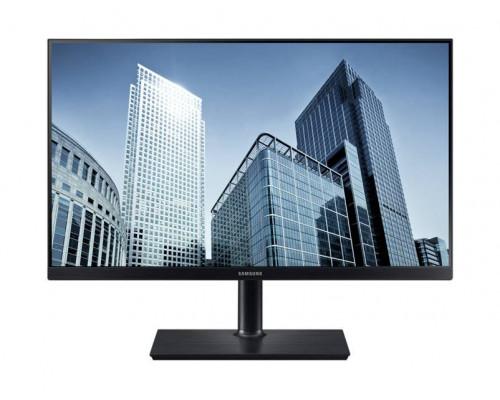 """МОНИТОР 23.8"""" Samsung S24H850QFI Black (PLS, LED, Wide, 2560х1440, 4ms, 178°/178°, 350 cd/m, 100,000,000:1, +DP, +НDMI, +MM, +USB Type-C, +Pivot, +FreeSync)"""