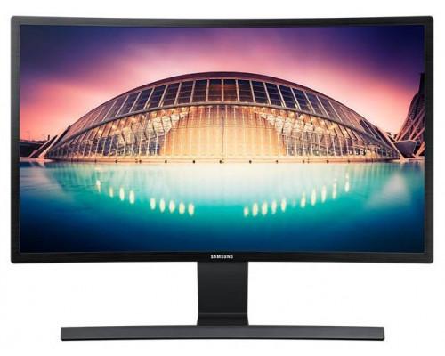 """МОНИТОР 24"""" Samsung S24E500C Black (VA LCD, LED, 1920x1080,4 ms, 178°/178°, 250 cd/m, 3000:1, +HDMI)"""