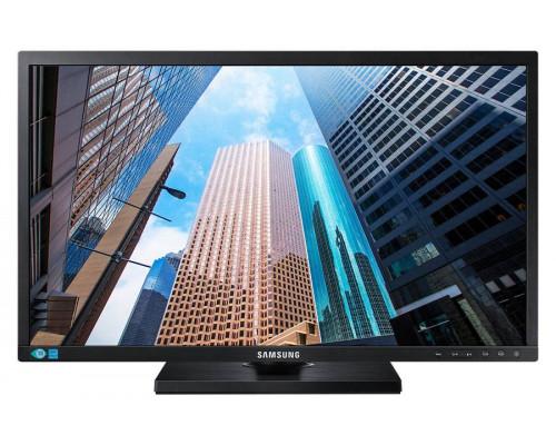 """МОНИТОР 24"""" Samsung S24E650DW Black (AD-PLS, LCD, LED, 1920x1200, 5 ms, 178°/178°, 300 cd/m, 1000:1, +DVI, +DP, +USBx 2, +MM)"""