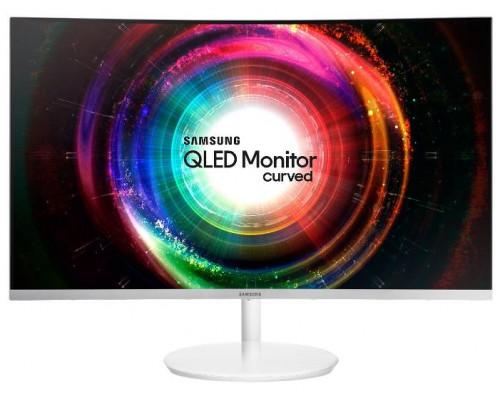 """МОНИТОР 26.9"""" Samsung C27H711QEI White Сurved (VA, LED, Wide, 2560х1440, 4ms, 178°/178°, 300 cd/m, 3000:1, +DP, +НDMI, )"""