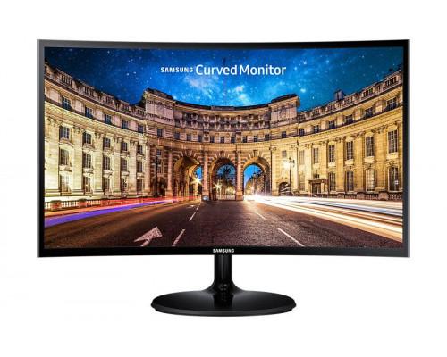 """МОНИТОР 27"""" Samsung C27F390FHI Glossy-Black (VA, LCD, LED, curved, 1920x1080, 4 ms (GTG), 178°/178°, 250 cd/m, 3000:1, +HDMI)"""