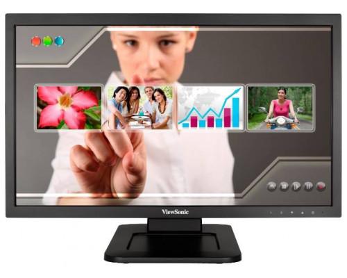 """МОНИТОР 21.5"""" Viewsonic TD2220-2 Black (LED, MultiTouch, 1920x1080, 5 ms, 170°/160°, 200 cd/m, 20M:1, +DVI, +2xUSB-port, + MM)"""