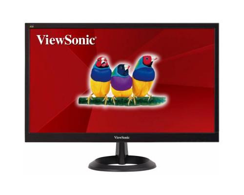 """МОНИТОР 21.5"""" Viewsonic VA2261-6 Black (LED, 1920x1080, 5 ms, 90°/65°, 200 cd/m, 50M:1, +DVI)"""