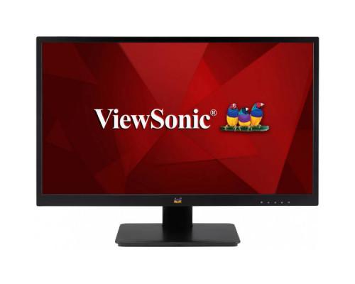 """МОНИТОР 23.8"""" Viewsonic VA2410-MH Black (IPS, LED, 1920x1080, 5 ms, 178°/178°, 250 cd/m, 50M:1, +HDMI, +MM)"""