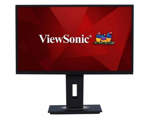 """МОНИТОР 23.8"""" Viewsonic VG2448 Black с поворотом экрана (IPS, LED, 1920x1080, 5 ms, 178°/178°, 250 cd/m, 50M:1, +HDMI, +DisplayPort, +4xUSB, +MM)"""