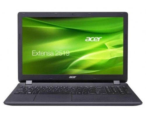 "Ноутбук Acer Extensa EX2519-P79W 15.6"" HD, Intel Pentium N3710, 4Gb, 500Gb, DVD-RW, Linux, черный (NX.EFAER.025)"