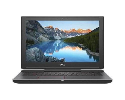 "Ноутбук Dell G5-5587 15.6"" FHD IPS, Intel Core i7-8750H, 16Gb, 1Tb + SSD 128Gb, no ODD, NVidia GTX1060 6Gb, Linux, черный"