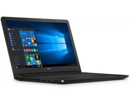 "Ноутбук Dell Inspiron 3552 15.6"" 1366x768, Intel Celeron N3060 1.6GHz, 4Gb, 500Gb, DVD-RW, WiFi, BT, Cam, Linux, черный"