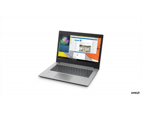 "Ноутбук Lenovo 330-14AST 14"" FHD, AMD E2-9000, 4Gb, 500Gb, noDVD, Win10, серый (81D5000LRU)"
