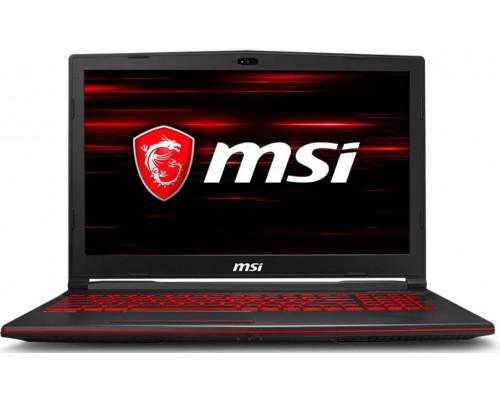 "Ноутбук MSI GL63^8RC-468XRU 15,6"" FHD, Intel Core i7-8750H, 16Gb, 1Tb, NVidia GTX1050 2Gb, no ODD, DOS"