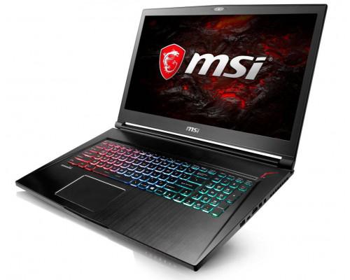 """Ноутбук MSI GS73^7RE-015RU 17.3"""" FHD, Intel Core i7-7700HQ, 8Gb, 2Tb + SSD 128Gb, noODD, NVidia GTX1050Ti 4Gb, Win10"""