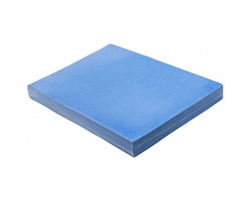 """ГЕЛЕОС Обложки для переплета картонные А4, тиснение под """"кожу"""", синие , 100 шт."""