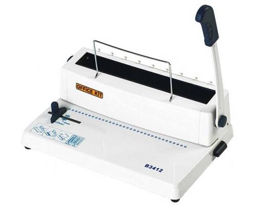 Переплетчик Office Kit B3412 / на металлическую пружину /сшивает до 120 лст. /перфорирует 12 лст.
