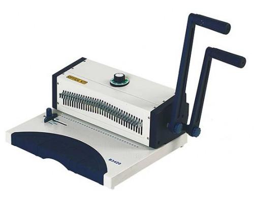 Переплетчик Office Kit B3420R / на металлическую пружину /сшивает до 120 лст. /перфорирует 20 лст.(круглые отверстия)