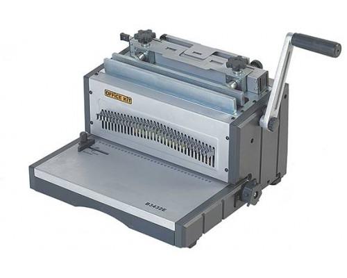 Переплетчик Office Kit B3432E / на металлическую пружину /сшивает до 120 лст. /перфорирует 32 лст./ электрический.