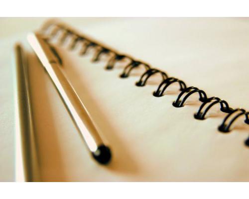 Пружины для переплета металлические Fellowes?, 14,3 мм., 100 шт., шаг 3:1, 34 кольца, черные
