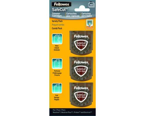 Набор ножей для резаков Fellowes?, Neutron A4 и Proton А3/А4, Electron А3/А4, 3 шт., (волна, перфорация, биговка)
