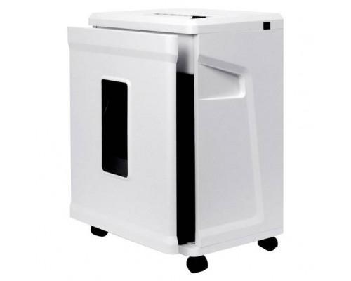 ГЕЛЕОС Шредер УМ26-5, DIN P-5 (5 ур-нь секр.), фрагмент 1,9х10мм, 8-11 лист (70г/м2), CD/пл.карты/скрепки/скобы, 26 литров