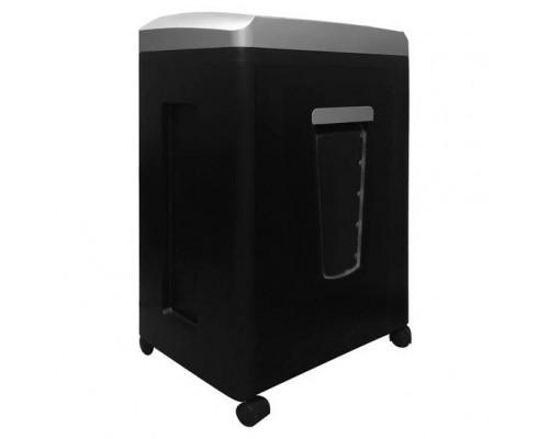 ГЕЛЕОС Шредер УП21-7, DIN P-7 (7 ур-нь секр.), фрагмент 0,8х2мм, 6-7 лист (70г/м2), CD/пл.карты, 23 литра
