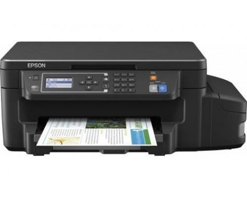 Фабрика Печати Epson L605, А4, 4 цв., копир/принтер/сканер, Duplex, Ethernet, USB, WiFi