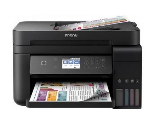 Фабрика Печати Epson L6170, А4, 4 цв., копир/принтер/сканер, ADF, Duplex, Ethernet, USB, WiFi