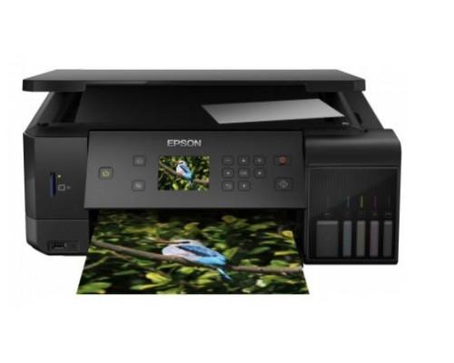Фабрика Печати Epson L7160, А4, 5 цв., копир/принтер/сканер, Duplex, Ethernet, USB, WiFi