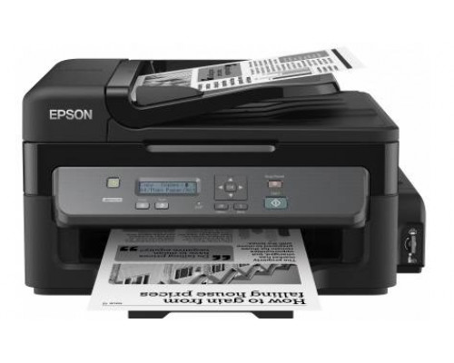 Фабрика Печати Epson M200, А4, ч/б, копир/принтер/сканер, ADF, Ethernet, USB