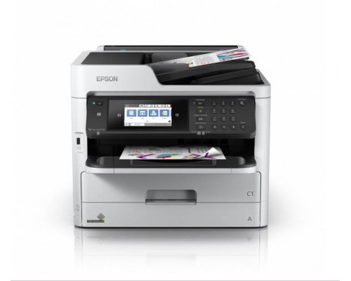 МФУ струйный 4 цв. Epson WorkForce Pro WF-C5790DWF, А4, лоток 330л,копир/принтер/сканер/факс,ADF,Dupl,Etht,USB,WiFi