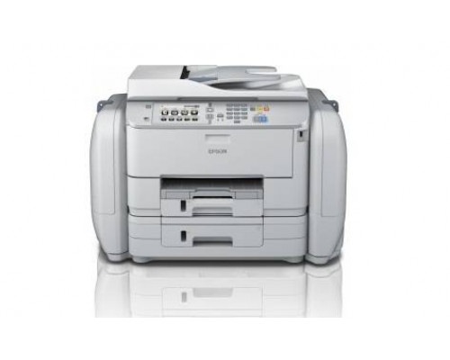 МФУ струйный 4 цв. Epson WorkForce Pro WF-R5690DTWF (RIPS), А4, лоток 580л, копир/принтер/сканер/факс, RDF, Duplex, Ethernet, USB, WiFi