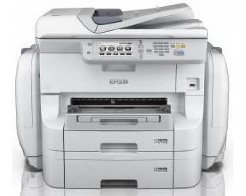 МФУ струйный 4 цв. Epson WorkForce Pro WF-R8590 DTWF (RIPS), А3+, лоток 830л, копир/принтер/сканер/факс, RDF, Duplex, Ethernet, USB, WiFi