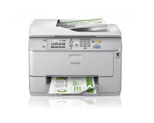 МФУ струйный 5 цв. Epson WorkForce Pro WF-5620DWF, А4, лоток 500л, копир/принтер/сканер/факс, ADF, Duplex, USB, WiFi