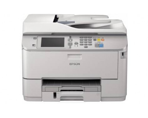 МФУ струйный ч/б Epson WorkForce Pro WF-M5690DWF, A4, лоток 330л, копир/принтер/сканер/факс, ADF, Duplex, Ethernet, USB, WiFi (тендерная модель)