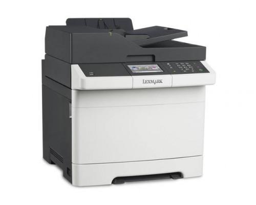 МФУ Lexmark CX410e Лазерное цветное (А4, 30стр/м, копир/принтер/сканер/автопод 1200х1200dpi,256МВ)
